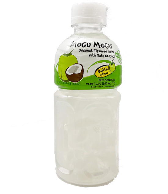 Mogo Mogu Coconut Juice with Nata de Coco 10.8oz