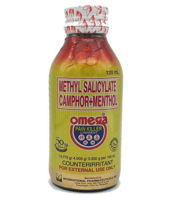 Omega Methyl Salicylate Camphor + Menthol Pain Killer 100ml