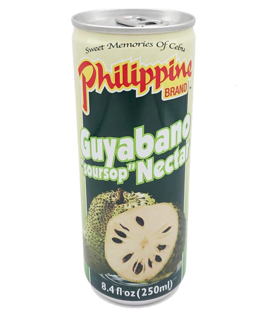 Philippine Brand Guyabano (Soursop) Nectar Juice 8.4oz