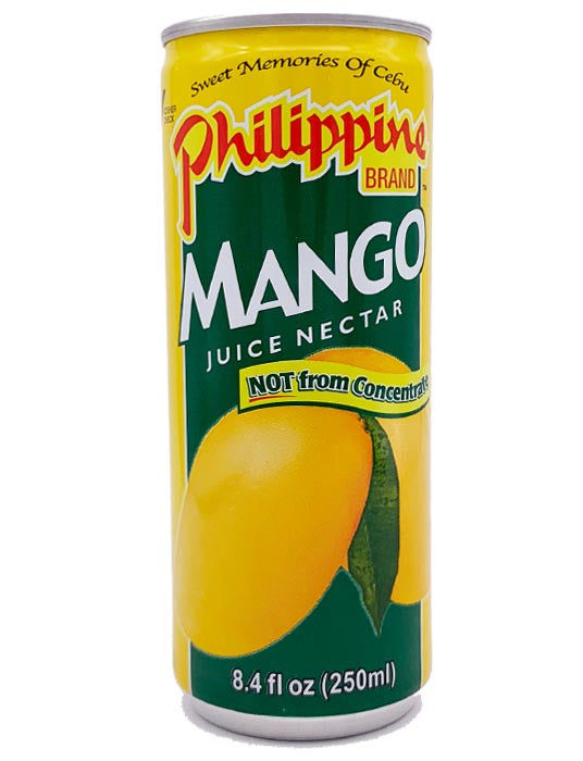 Philippine Brand Mango Juice Drink 8.4 Oz.