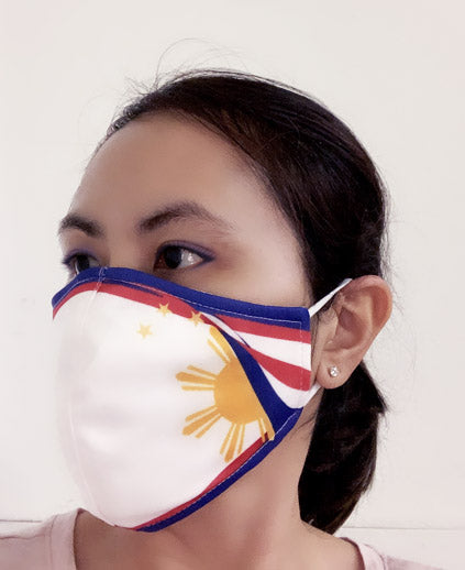 Philippine Flag Face Mask