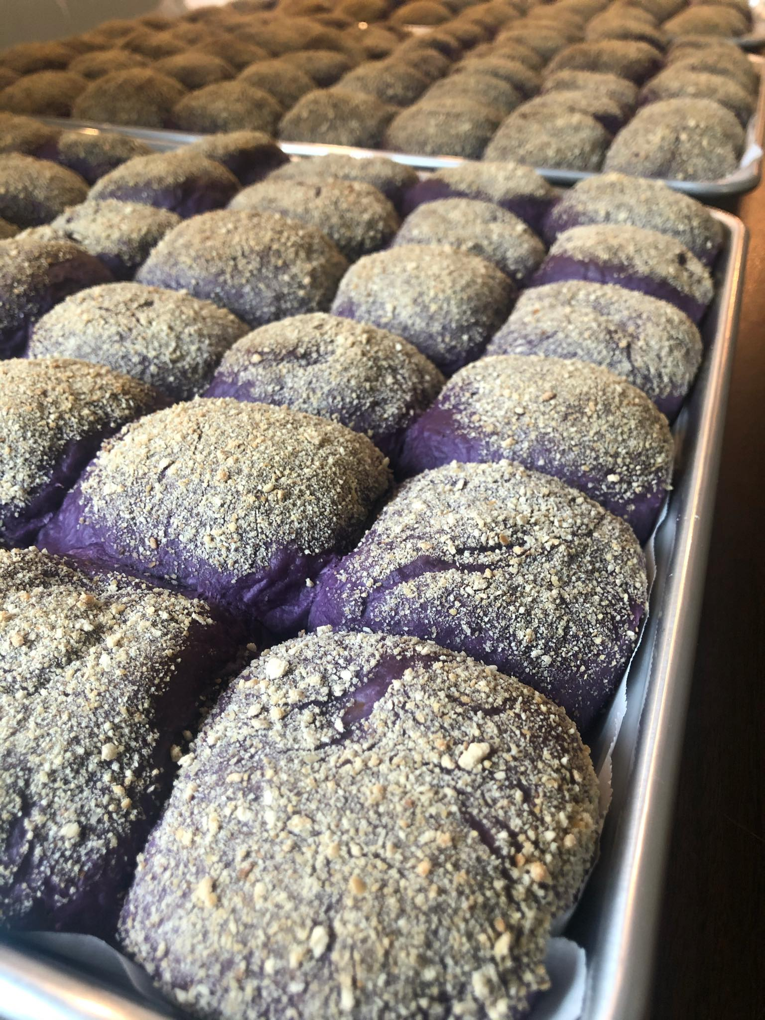 Yummy Delights Ube Cheese Pan de Sal