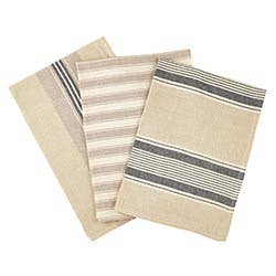 Kit Towel Beige And Grey 3pc