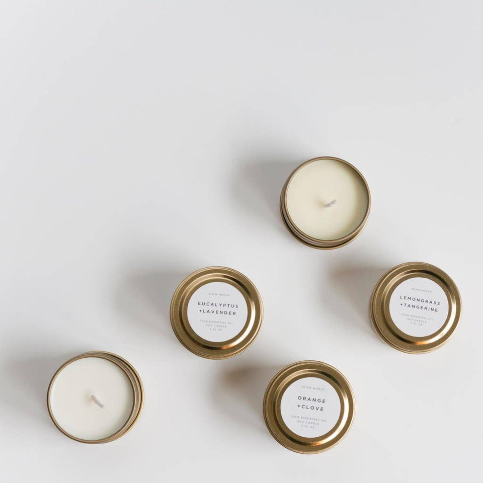Mini Soy Candles - 2 oz