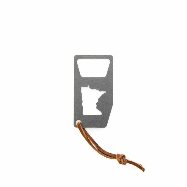 Minnesota-Shaped Bottle Opener