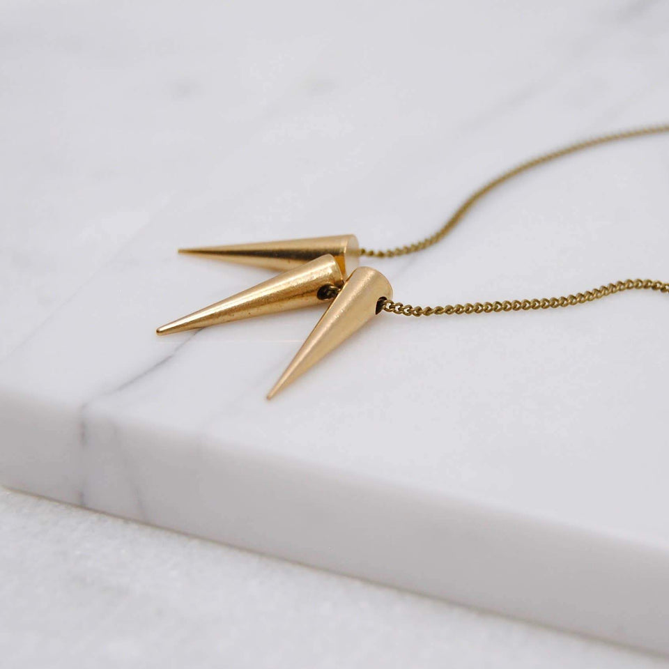 Tiny Spikes Necklace