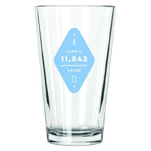 Land of Lakes Pint Glass