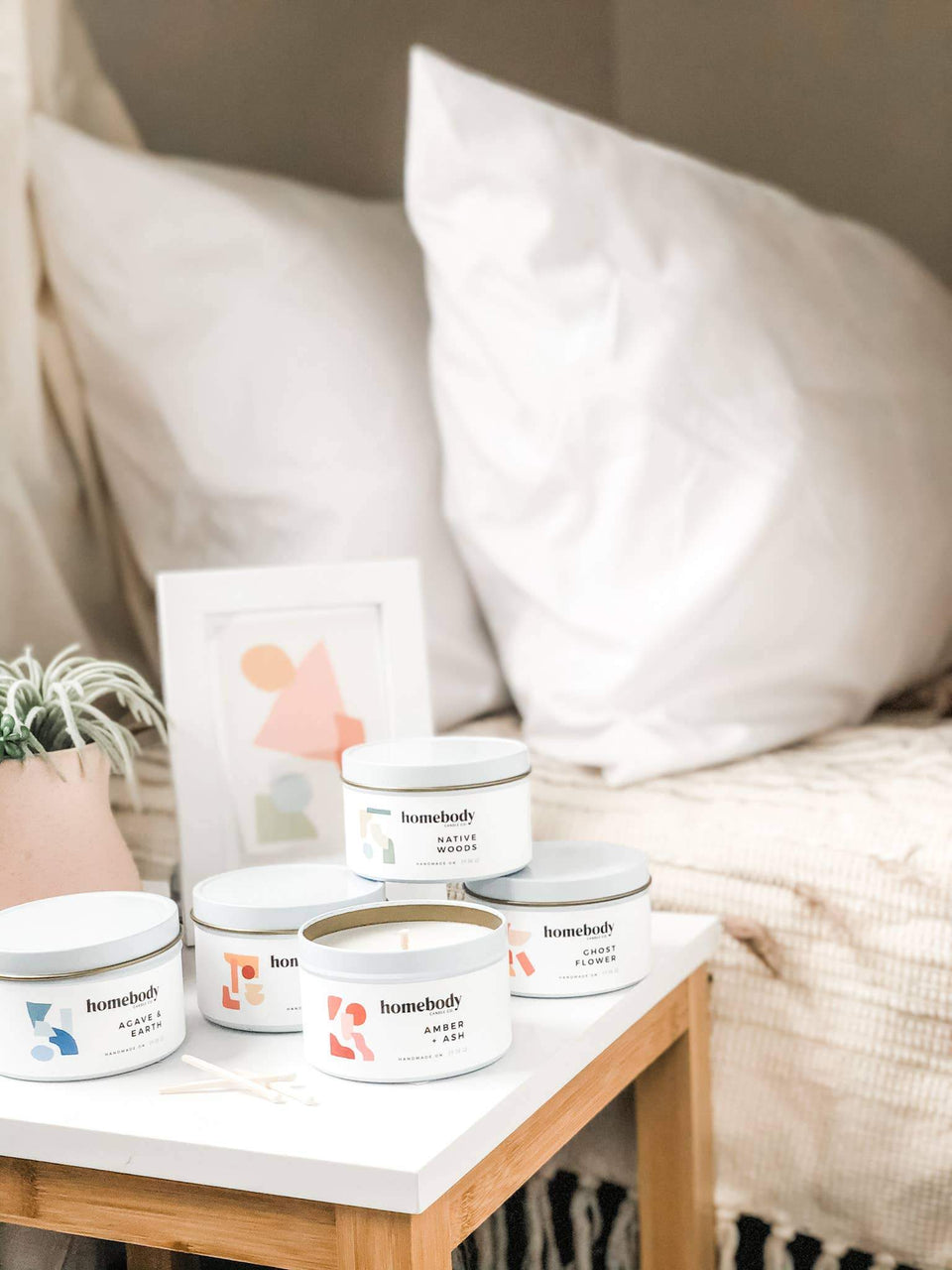 homebody candle tins
