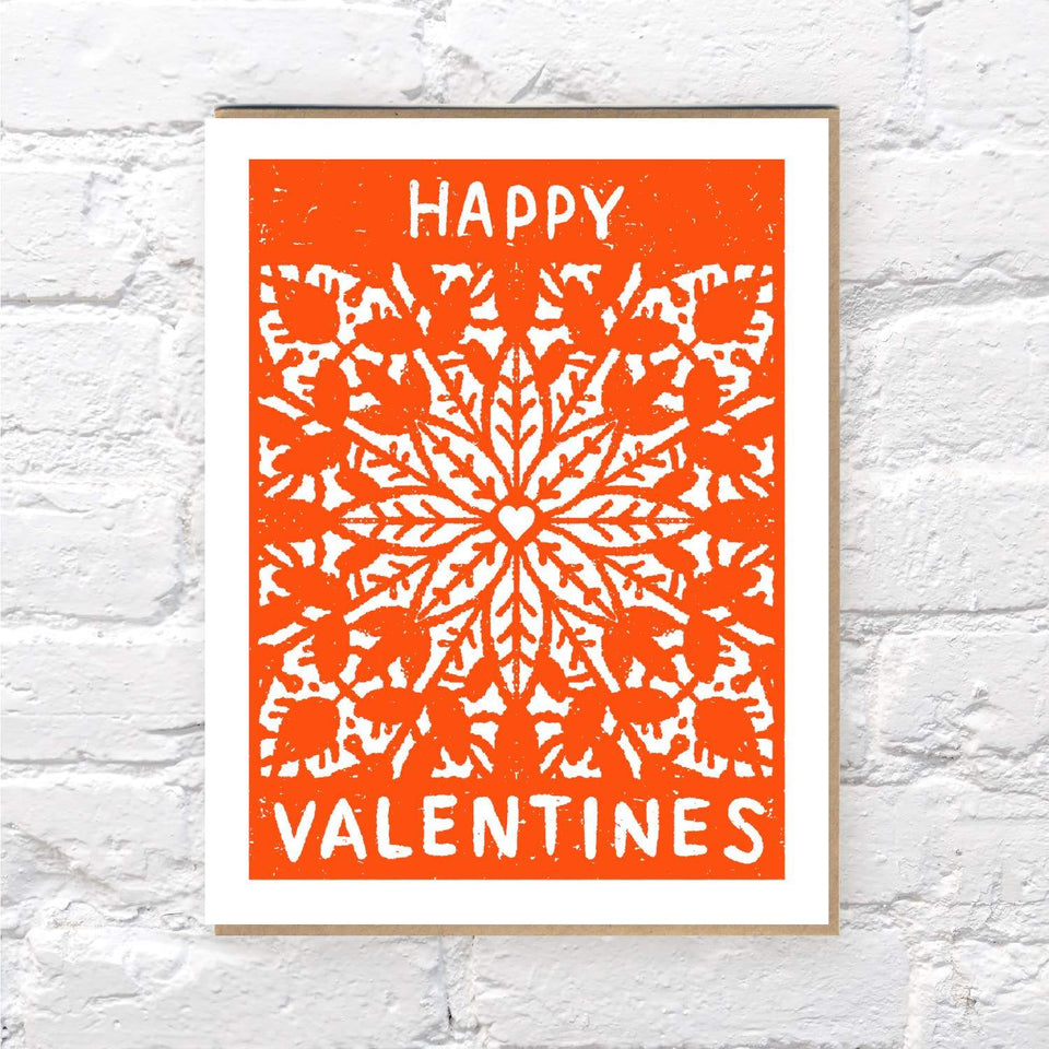 Lacy Valentine Card