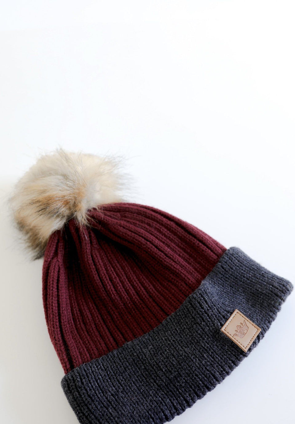 Knit Beanie with Pom