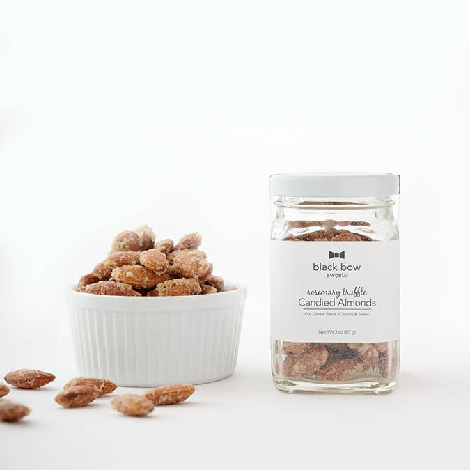 3 oz Rosemary Truffle Candied Almond Jar