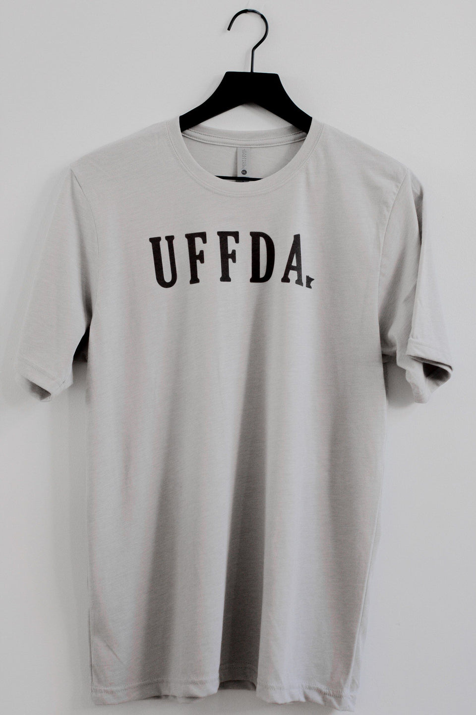 """Uffda"" t-shirt (grey)"