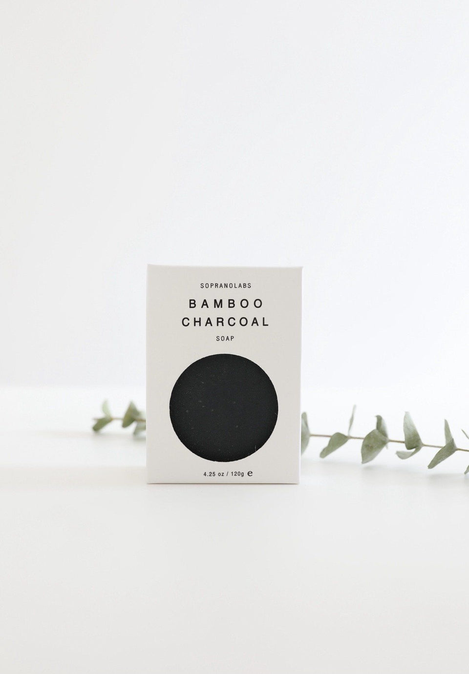 Bamboo Charcoal Vegan Soap. Gift for her/him 4.25 oz