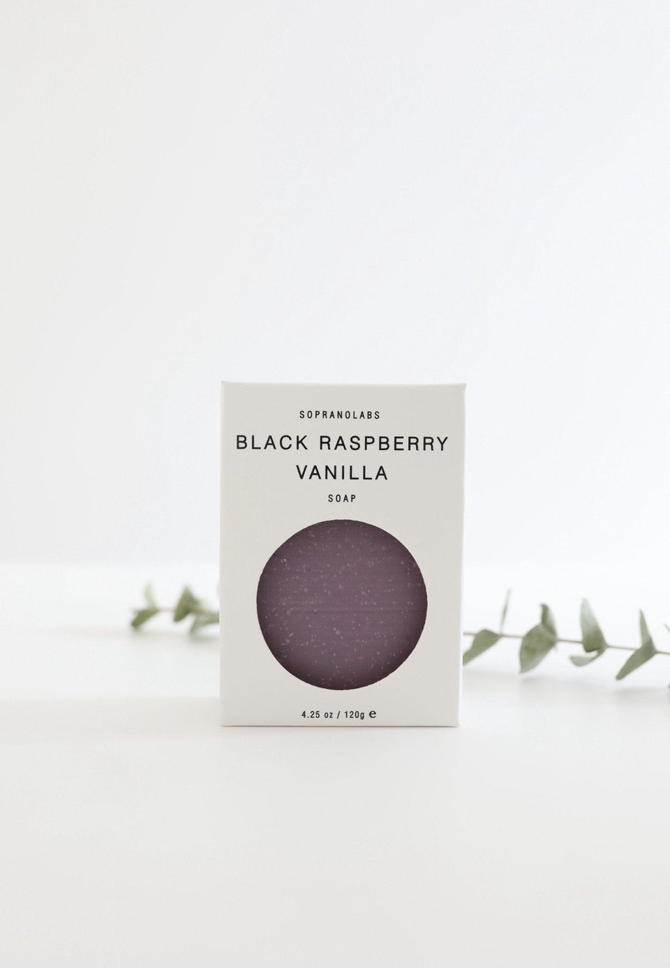 Black Raspberry Vanilla Vegan Soap. Gift for her