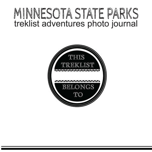 Minnesota State Park Scrapbook/Photo Journal