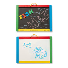Load image into Gallery viewer, Magnetic Chalk & Dry Erase Board