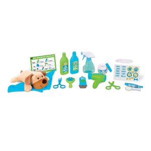 Wash & Trim Dog Grooming Play Set