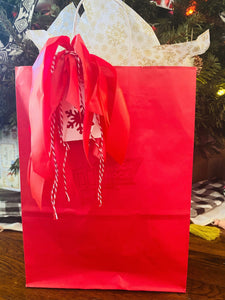 SNOW Cute Knock Knock Gift Bag Option $5 per gift