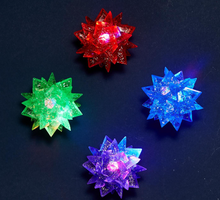 Load image into Gallery viewer, Spiky Glitter Sparkle Led Star Ball