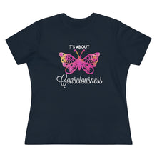 Load image into Gallery viewer, It's About Consciousness Butterfly T-shirt