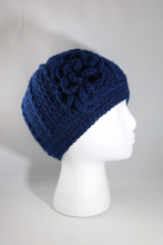 Load image into Gallery viewer, Crochet Flower Beanie