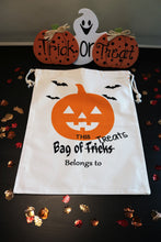 Load image into Gallery viewer, Personalized Halloween Trick-or-Treat Bags