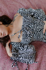 Load image into Gallery viewer, The Picnic Dress in Zebra