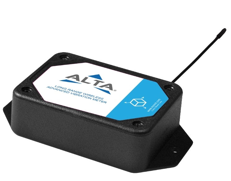 ALTA Wireless Advanced Vibration Meter - AA Battery Powered, 900MHZ