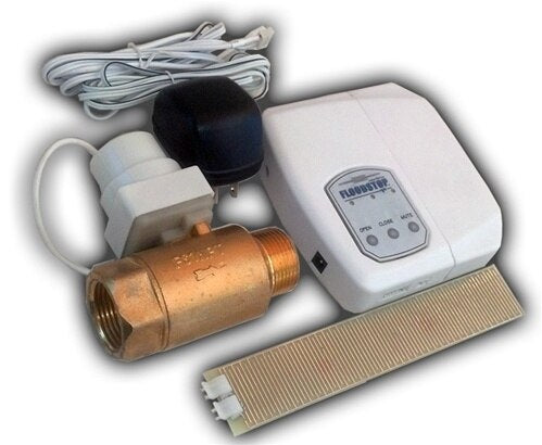 "Floodstop Automatic Water Shut Off for Water Heaters 3/4"" NPT"