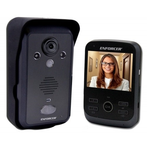 Seco-Larm SL-DP-266-1C3Q Enforcer Wireless Video Door Phone