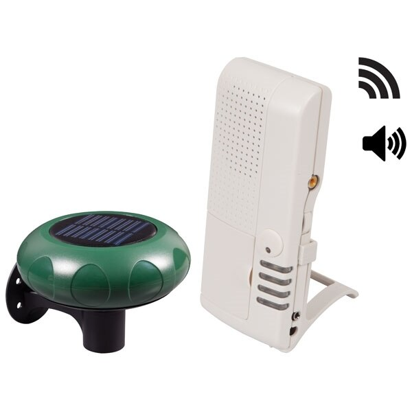 STI Solar Powered Driveway Alarm with Voice Alerts