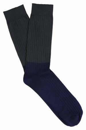 Colour Block Socks Salute / Patriot Blue