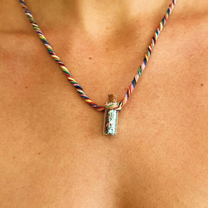 Sparkle Necklace - Rainbow Blend