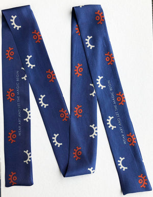 London Organic Silk Scarf