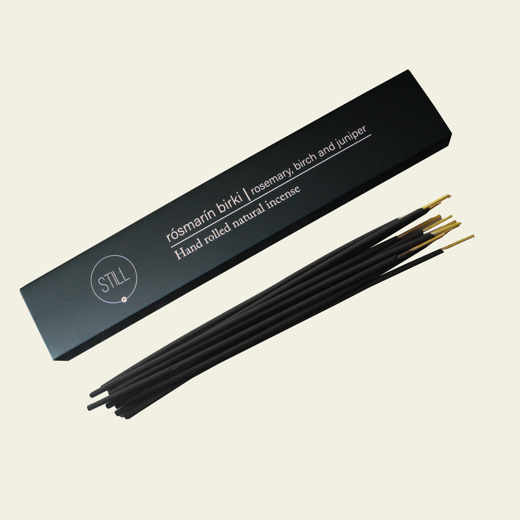 Natural Incense Sticks - Rosmarin Birki (Iceland)