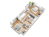 3D Floor Plans for Residential Properties