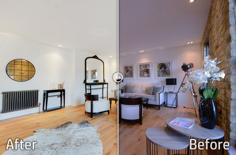Property Photography Editing - Package of Edited Photos & One x Floor Plan Converted from your Sketch