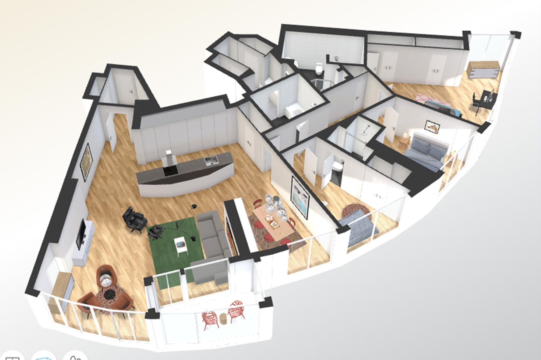 ... 3D Interactive Floor Plans With Virtual Furnishing ...