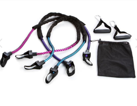 Aeromat Ex-Cord Fitness Tube Bundle with handles.