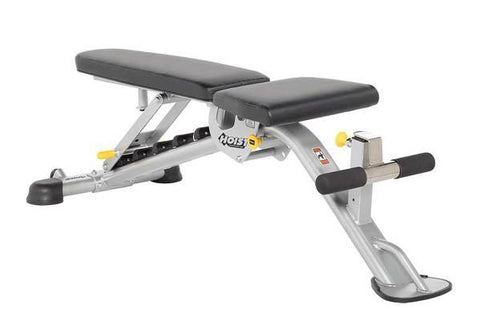 HF-5165 7 Position FID Bench Weighted & Utility Benches Hoist Fitness Regular