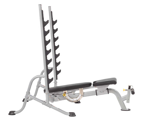 HF 5170 7 position olympic bench Weighted & Utility Benches Hoist Fitness
