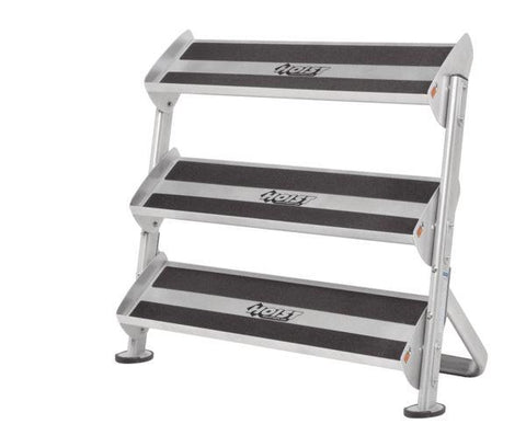 "HF-5461-OPT-36 36"" Dumbbell Rack With OPT (3rd-Tier) Weight Storage Hoist Fitness"