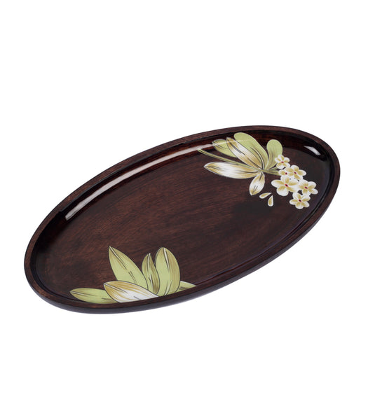 Baby's Breath Oval Platter
