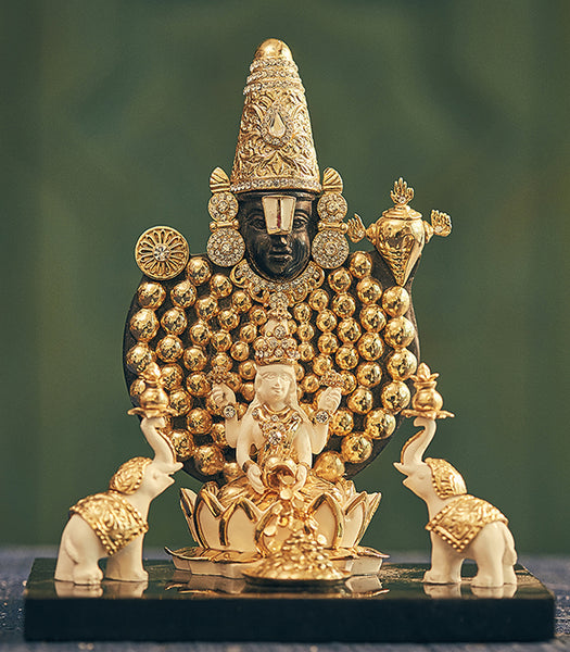 Laxmi Balaji Sculpture