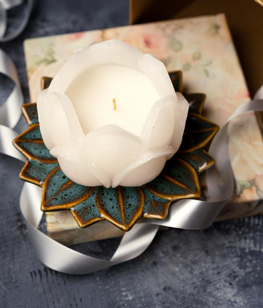 Flower Candle Set