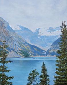 """Lake Louise"" Fine Art Print 11x14"