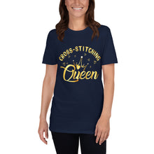 Load image into Gallery viewer, Cross-Stitching Queen T-Shirt