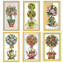 Load image into Gallery viewer, Flower Ball Count Cross Stitch Kit