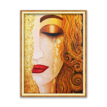 Load image into Gallery viewer, Klimt Printed Cross Stitch Kit