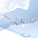 Crystal Star Moon Bracelet